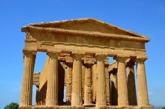 Temple of Concordia, Agrigento stock image