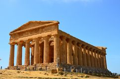 Temple of Concordia, Agrigento royalty free stock image