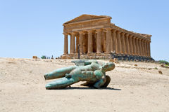 Temple of Concordia, Agrigento Royalty Free Stock Photo