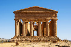 Temple of Concordia Royalty Free Stock Image