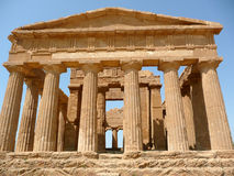 The Temple of Concordia, Agrigento, Italy Royalty Free Stock Photos