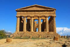 Temple of Concordia / Agrigento, Sicily Stock Image
