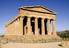 The temple of Concordia in Agrigento, Sicily Royalty Free Stock Photography