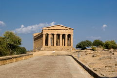 Temple of Concordia, Agrigento stock image