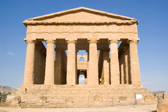 Temple of Concordia, Agrigento Stock Photos