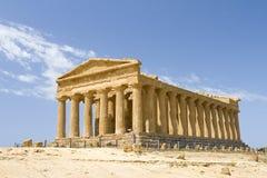 Temple of Concordia Stock Image