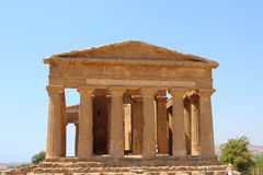 Temple of Concordia Royalty Free Stock Photo