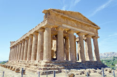 Temple of Concordia - Valley of the Temples Royalty Free Stock Photo