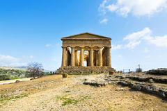 Temple of Concordia Stock Images