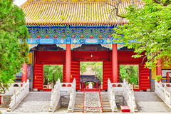 Temple of Confucius at Beijing is the second largest Confucian T Stock Photography