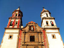 Temple of the Congregation in Queretaro, Mexico. Royalty Free Stock Photo
