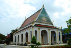 Temple construit antique Photos stock
