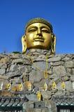 Temple Corée de Wowoojongsa images libres de droits