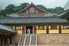 Temple coréen Photos libres de droits