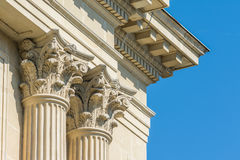 Temple Corinthian Columns Royalty Free Stock Photography