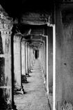 Temple corridor Stock Photos