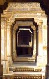 Temple corridors Stock Image