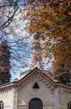 Temple crematorium Stock Images