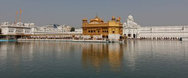 Temple d'or à Amritsar/en Inde photo stock