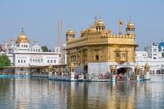 Temple d'or à Amritsar, Pendjab, Inde Photographie stock libre de droits