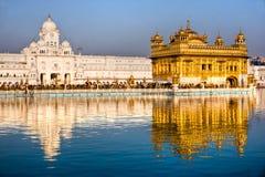 Temple d'or à Amritsar, Pendjab, Inde. images libres de droits