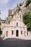 Temple d'église au Monaco au centre de Monte Carlo dans les sud de l'Europe image stock