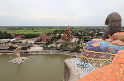 Temple d'éléphant photographie stock libre de droits