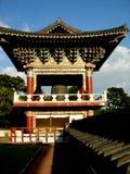 Temple d'île de Jeju de tour de Bell Photographie stock