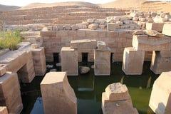 Temple d'Abydos Photos libres de droits