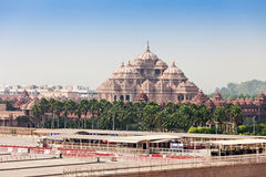 Temple d'Akshardham Photographie stock