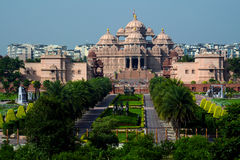 Temple d'Akshardham, Delhi, Inde Photo stock