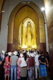 Temple d'Ananda dans bagan, Myanmar Photo libre de droits