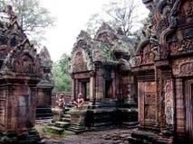 Temple d'Angkor Thom Photos stock