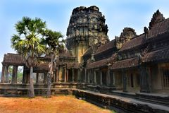 Temple d'Angkor Vat Photos libres de droits