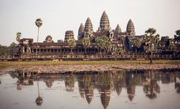 Temple d'Angkor Vat Photographie stock libre de droits