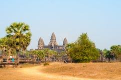 Temple d'Angkor Vat Photo libre de droits
