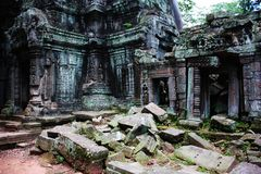 Temple d'Angkor Vat Photographie stock