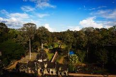 Temple d'Angkor Vat Image libre de droits
