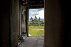 Temple d'Angkor Vat, Cambodge Photos stock