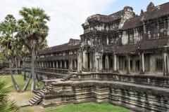 Temple d'Angkor Vat chez Siem Reap au Cambodge Image stock