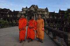 Temple d'Angkor Vat chez Siem Reap au Cambodge Photos libres de droits