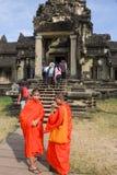 Temple d'Angkor Vat chez Siem Reap au Cambodge Photos stock