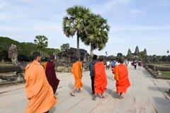 Temple d'Angkor Vat chez Siem Reap au Cambodge Photo libre de droits