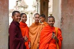 Temple d'Angkor Vat chez Siem Reap au Cambodge Image libre de droits