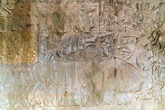 Temple d'Angkor Wat, Siem Reap, Cambodge images stock