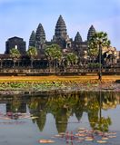 Temple d'Angkor Wat, Siem Reap, Cambodge Photos stock