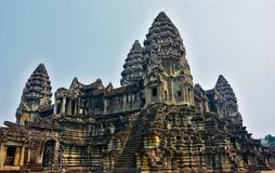 Temple d'Angkor Wat, Siem Reap, Cambodge Images stock