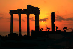 Temple d'Apollo Image libre de droits