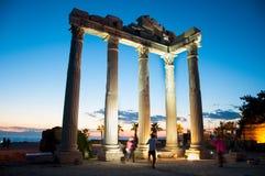 Temple d'Apollo Image stock