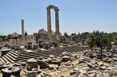 Temple d'Apollon Photo libre de droits